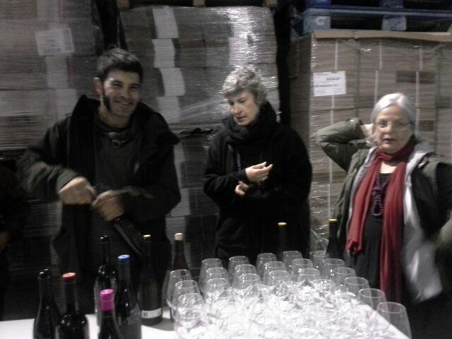 tast de vins del celler Arché Pagès